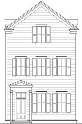Lot 4 Elevation at Earl's Court